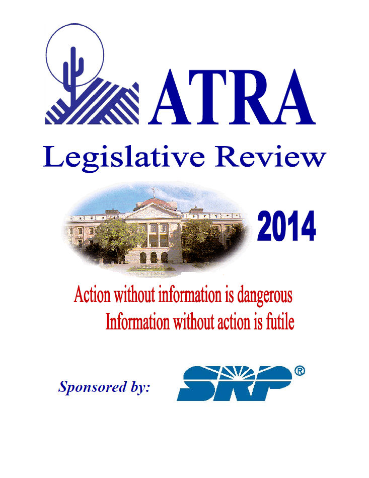 2014 Leg Review cover