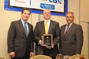 (from left to right) Kevin McCarthy, Fritz Behring, Larry Lucero