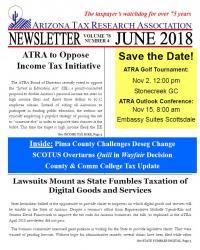 ATRA Newsletters: 2018 | Arizona Tax Research Association