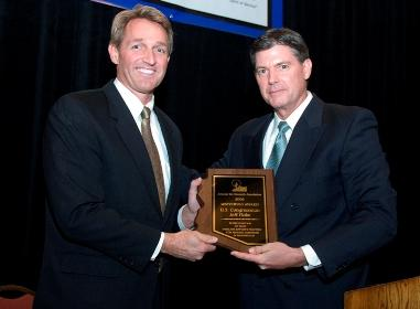 Congressman Jeff Flake, & Richard Foreman, Director of Corporate Public Affairs, Southwest Gas Corporation