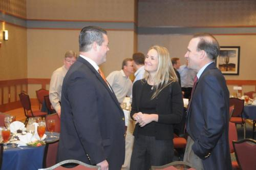 (from left to right) Jason Bagley, Government Affairs Manager, Intel Corporation, Jessica Pacheco, Arizona Public Service, & Michael Stull, Manager, Government Relations, Cox Communications
