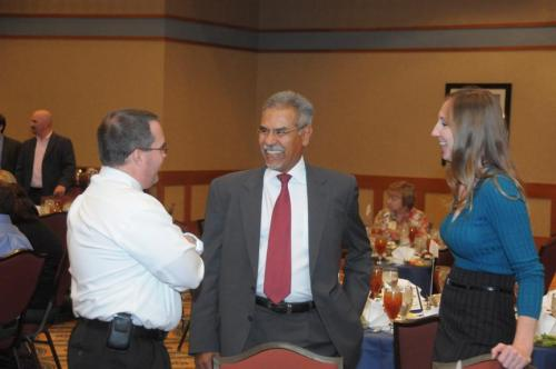 (from left to right) Chris Kelling, Manager of State & Local Tax, PetSmart, Larry Lucero, Manager of Government Relations, Tucson Electric Power, & Jennifer Cox, Tucson Electric Power,
